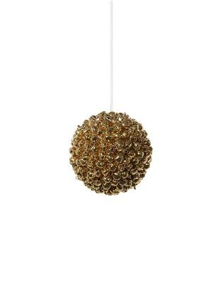 Main View - Click To Enlarge - Shishi As - Mini bell ball Christmas ornament