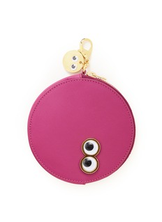 Sophie Hulme 'Frank & Penny Spot' goggly eye leather coin pouch