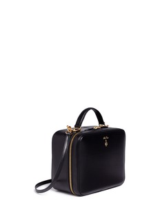 Mark Cross 'Laura' leather box bag