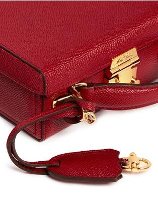- Mark Cross - 'Grace Box' mini saffiano leather trunk