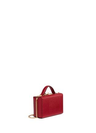 Figure View - Click To Enlarge - Mark Cross - 'Grace Box' mini saffiano leather trunk