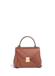 Mark Cross 'Hadley Small Flap' pebbled leather bag