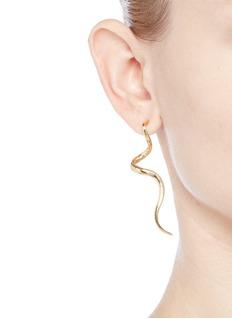 Kenneth Jay LaneSwirl drop earrings