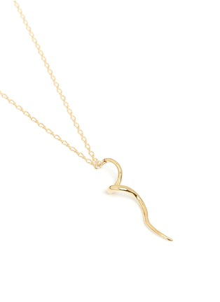 Kenneth Jay Lane - Swirl pendant necklace
