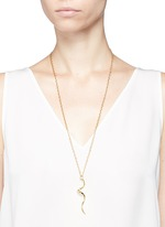 Swirl pendant necklace