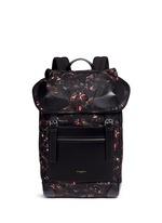 'Rider' monkey brothers print nylon backpack