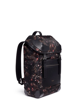 Figure View - Click To Enlarge - Givenchy - 'Rider' monkey brothers print nylon backpack