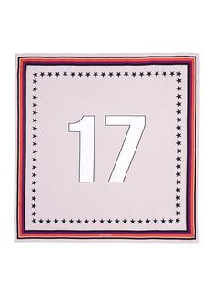 Givenchy'17' silk twill scarf