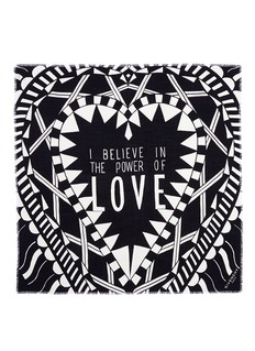 GIVENCHY'Power of Love' virgin wool-silk scarf