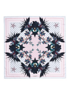 Givenchy'Ultra Paradise' floral silk twill scarf