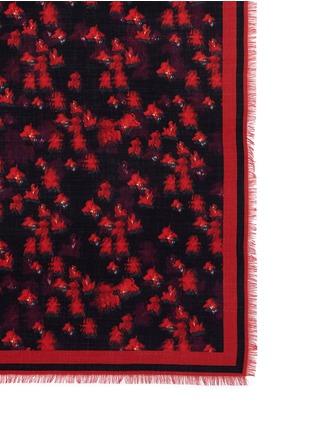 Givenchy-Floral virgin wool-silk scarf