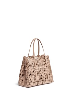 Alaïa 'Vienne Vague' medium lasercut leather tote