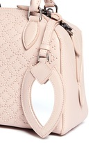 'Arabesque' mini stud leather bag