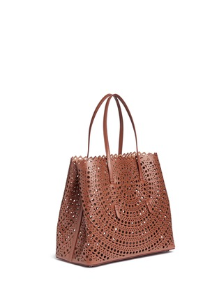 Alaïa - 'New Vienne' large lasercut leather tote