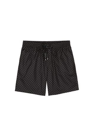 Main View - Click To Enlarge - Dolce & Gabbana - Polka dot print swim shorts