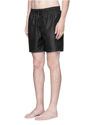 Figure View - Click To Enlarge - Dolce & Gabbana - Polka dot print swim shorts
