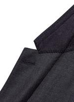 'Martini' slim fit notch lapel wool-silk suit
