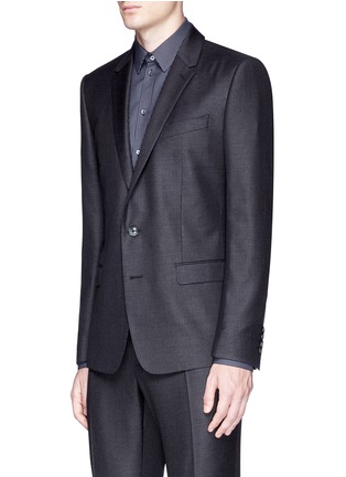 Front View - Click To Enlarge - Dolce & Gabbana - 'Martini' slim fit notch lapel wool-silk suit