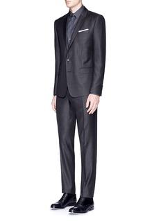Dolce & Gabbana'Martini' slim fit notch lapel wool-silk suit