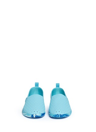 Figure View - Click To Enlarge - Native - 'Venice' marble effect sole kids slip-ons