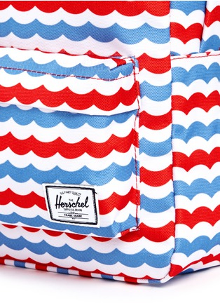 Detail View - Click To Enlarge - Herschel Kids - 'Heritage' mariner stripe kids backpack