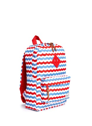 Figure View - Click To Enlarge - Herschel Kids - 'Heritage' mariner stripe kids backpack