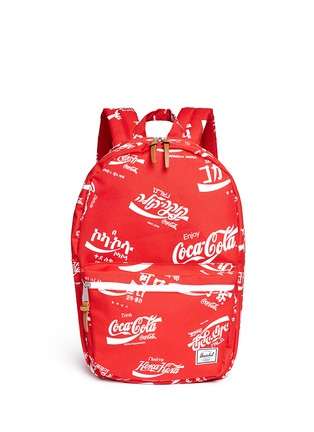 Main View - Click To Enlarge - The Herschel Supply Co. Brand - 'Lawson' Coca-Cola® print backpack