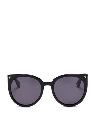 Main View - Click To Enlarge - Stephane + Christian - 'Monroe' oversize cat eye acetate sunglasses
