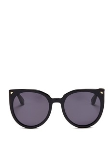 Stephane + Christian 'Monroe' oversize cat eye acetate sunglasses