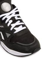 'Pump Graphlite' suede trim hopsack sneakers