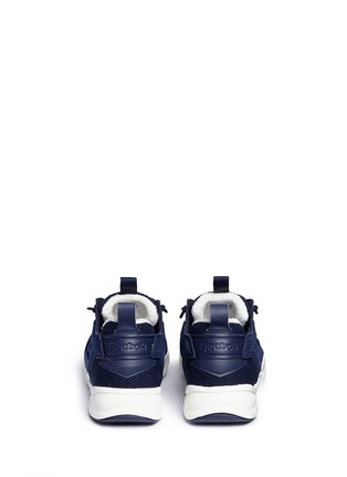 Back View - Click To Enlarge - Reebok - 'Furylite Winter' rib trim sneakers