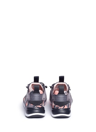 Back View - Click To Enlarge - Reebok - 'FuryLite Candy Girl' geometric print sneakers