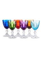 Dolce Vita six-piece wine glass set