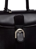 'Brilliant MM' box calf leather bag