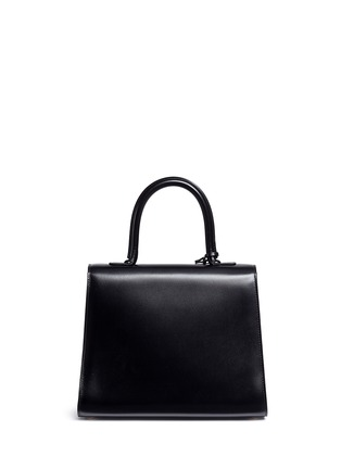 Back View - Click To Enlarge - Delvaux - 'Brilliant MM' box calf leather bag