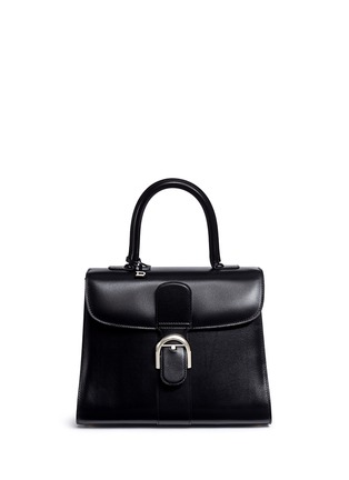 Main View - Click To Enlarge - Delvaux - 'Brilliant MM' box calf leather bag