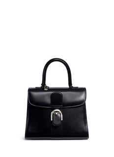 Delvaux 'Brilliant MM' box calf leather bag