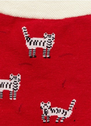 Detail View - Click To Enlarge - HANSEL FROM BASEL - 'Alley Cat' crew socks