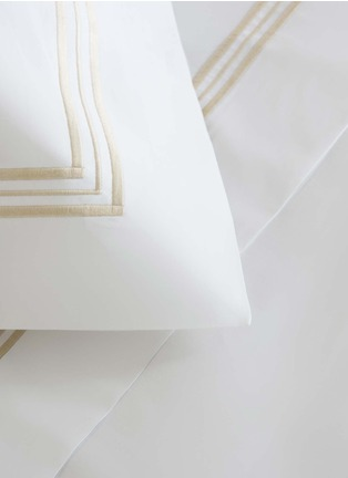 Detail View - Click To Enlarge - Frette - Triplo Bourdon standard sham