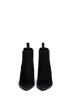 ROBERT CLERGERIE'Quamo' suede Chelsea boots