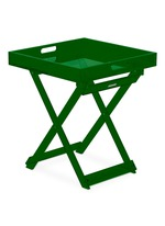 Foldable acrylic side table