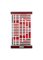 Geometric block acrylic bin