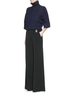 STELLA MCCARTNEYMetal button wide leg wool pants