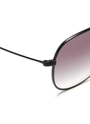 Detail View - Click To Enlarge - Oliver Peoples - x Isabel Marant 'Matt' wire aviator sunglasses