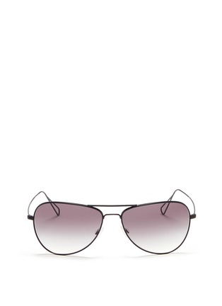 Main View - Click To Enlarge - Oliver Peoples - x Isabel Marant 'Matt' wire aviator sunglasses