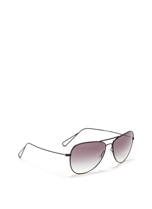 Figure View - Click To Enlarge - Oliver Peoples - x Isabel Marant 'Matt' wire aviator sunglasses