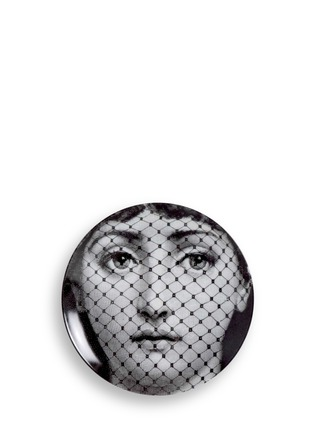 Main View - Click To Enlarge - Fornasetti - Themes and Variations wall plate #078