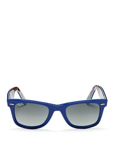 RAY-BAN 'Original Wayfarer' patchwork print sunglasses