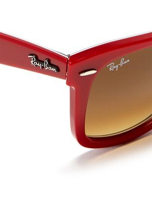 Detail View - Click To Enlarge - Ray-Ban - 'Original Wayfarer' patchwork print sunglasses