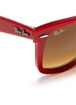 'Original Wayfarer' patchwork print sunglasses